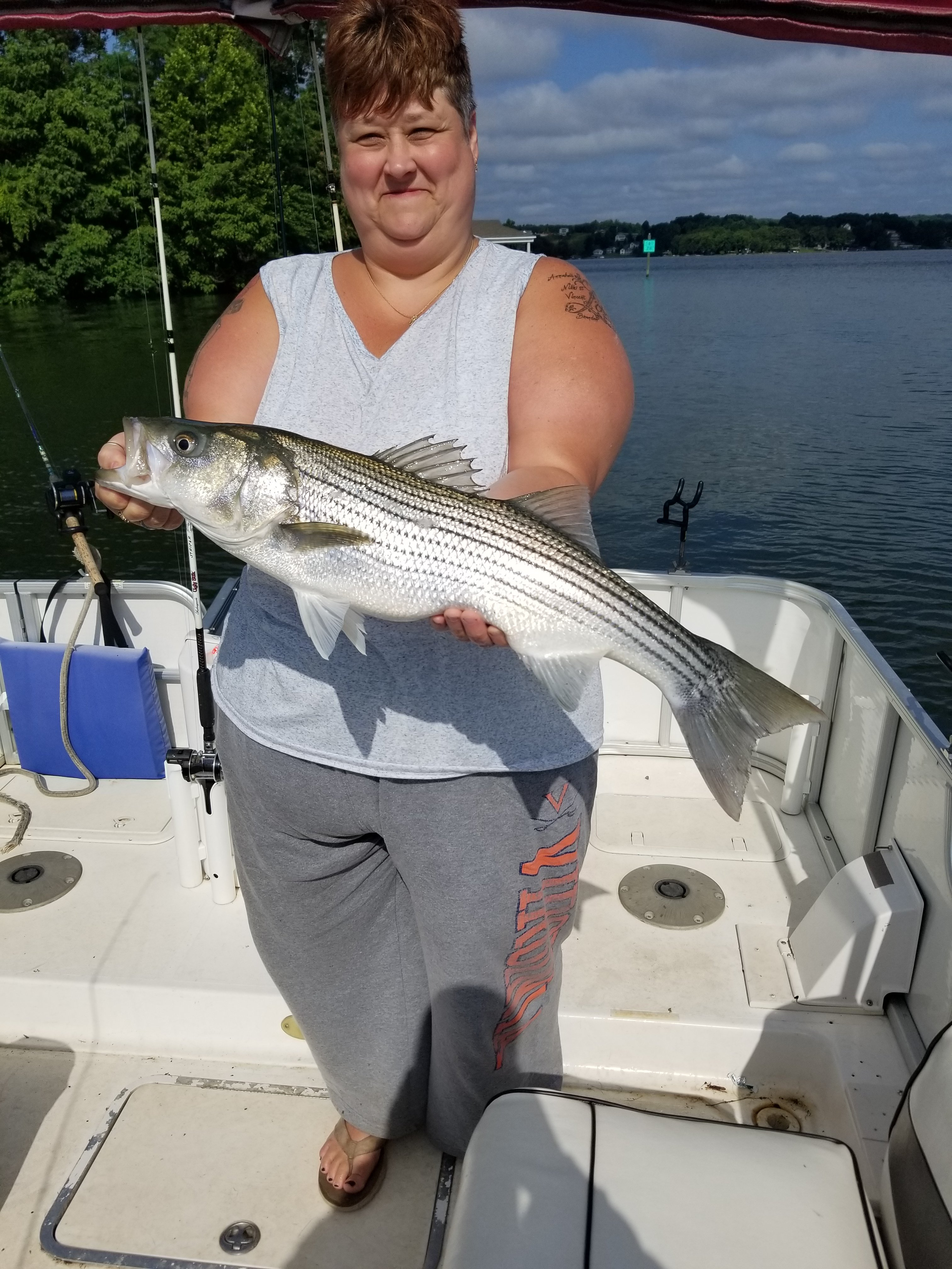 striper-fishing-charters-Smith-Mountain-Lake