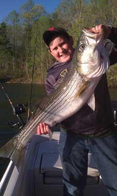 Fishing Quide at Smith Mountain Lake